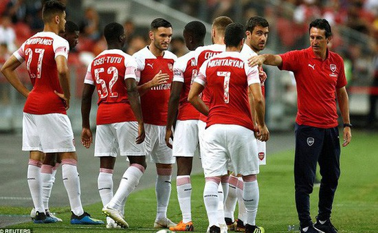 VIDEO tổng hợp diễn biến trận đấu: Atletico Madrid 1-1 (pen 3-1) Arsenal (IC Cup 2018)