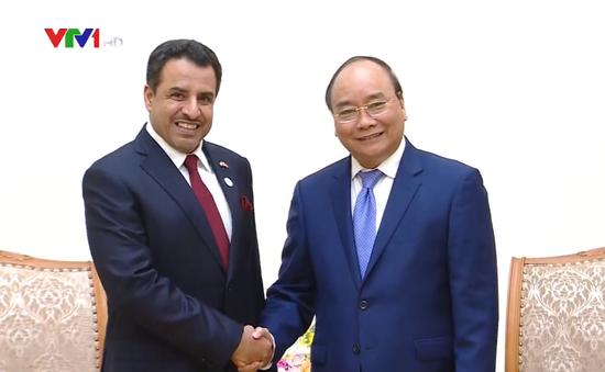 Thủ tướng Nguyễn Xuân Phúc tiếp Đại sứ Các Tiểu vương quốc Arab Thống nhất