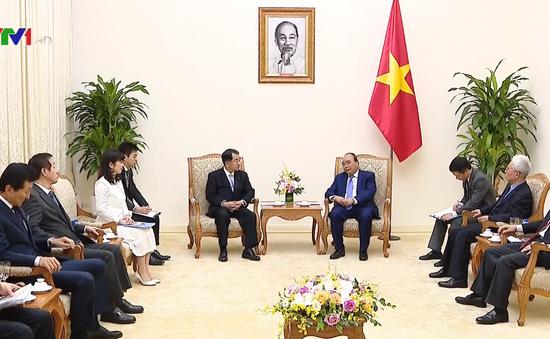 Thủ tướng tiếp Chủ tịch Liên minh nghị sĩ hữu nghị Nhật Bản - Mekong