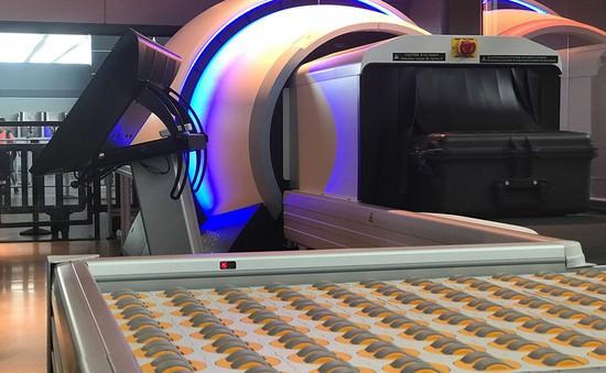 Lắp đặt máy chụp cắt lớp 3D soi hành lý tại Mỹ
