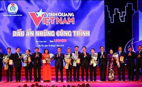 Vinh quang Việt Nam 2018: Vinh danh 8 công trình có dấu ấn nổi bật