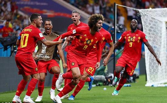 KẾT QUẢ FIFA World Cup™ 2018, Bỉ 3-2 Nhật Bản: Ngược dòng nghẹt thở, ĐT Bỉ gặp Brazil ở tứ kết