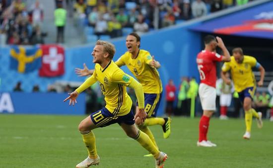 Chấm điểm Thụy Điển 1-0 Thụy Sĩ: Người hùng Forsberg vừa hay lại vừa may