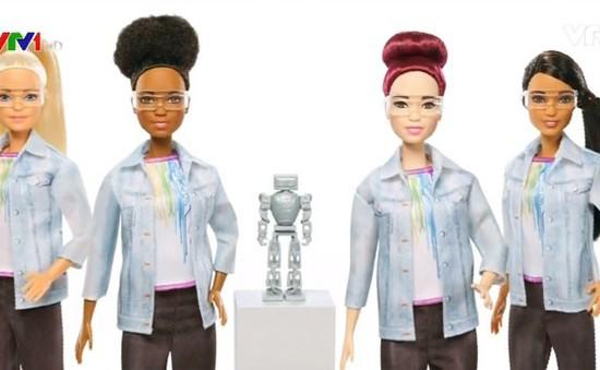 Búp bê Barbie làm nghề kỹ sư robot