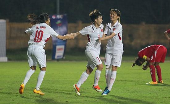 16h00 hôm nay (3/7), ĐT nữ Việt Nam ra quân gặp chủ nhà Indonesia tại giải bóng đá nữ Đông Nam Á 2018