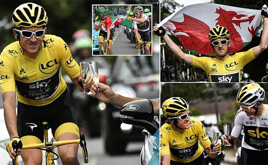 Tour de France 2018: Geraint Thomas đăng quang ấn tượng