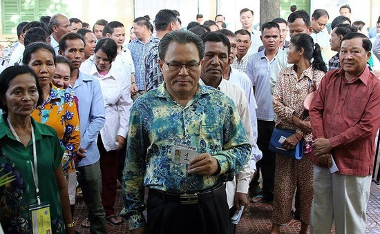 Quốc tế đánh giá về cuộc bầu cử Quốc hội Campuchia khóa VI