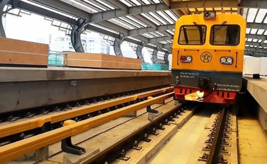 Vận hành thử nghiệm đường sắt Cát Linh - Hà Đông trong tháng 8/2018
