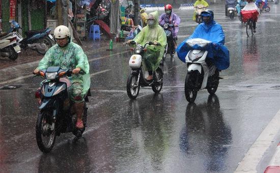 Hôm nay, Bắc Bộ và Bắc Trung Bộ mưa diện rộng