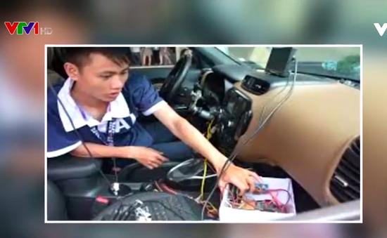 Nghiên cứu thành công ô tô tự lái của Việt Nam