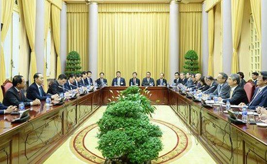 Chủ tịch nước tiếp đoàn Ủy ban kinh tế Việt - Nhật