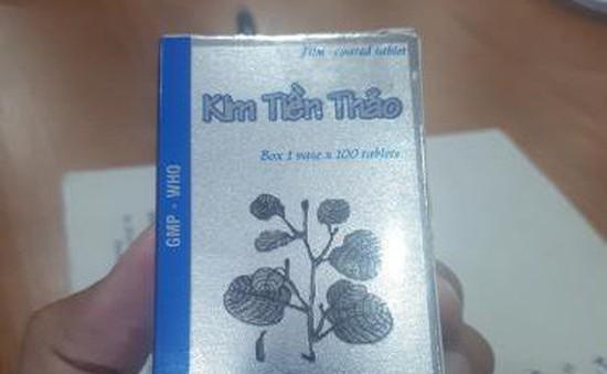 Thu hồi 6.000 lọ thuốc Kim tiền thảo không đạt chất lượng