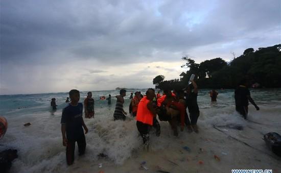Chìm phà ở Indonesia: Con số thương vong đã lên tới 29 người