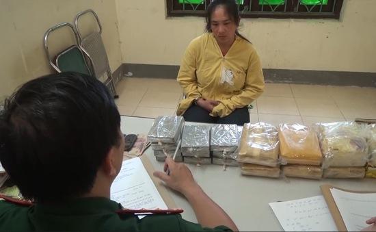 Điện Biên bắt đối tượng vận chuyển số lượng ma túy lớn