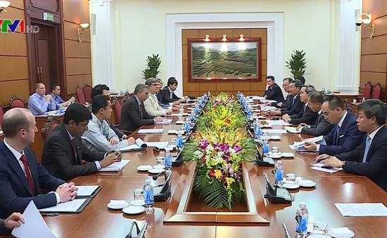 Trưởng Ban Kinh tế Trung ương tiếp Đoàn đại biểu Liên minh Diễn đàn doanh nghiệp Việt Nam