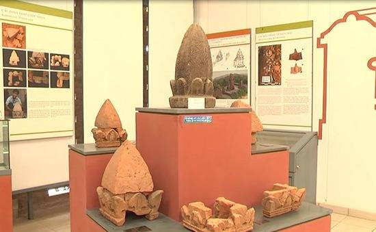 Khu tháp K tại Khu Di tích Mỹ Sơn đã hoàn tất việc bảo tồn tôn tạo