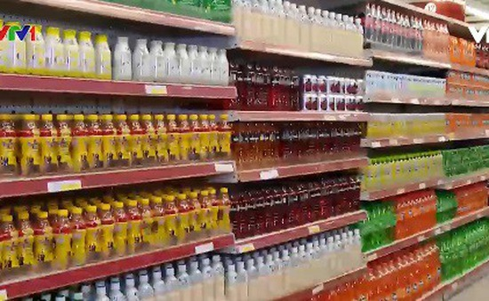 Sức tiêu thụ nước giải khát tăng mạnh