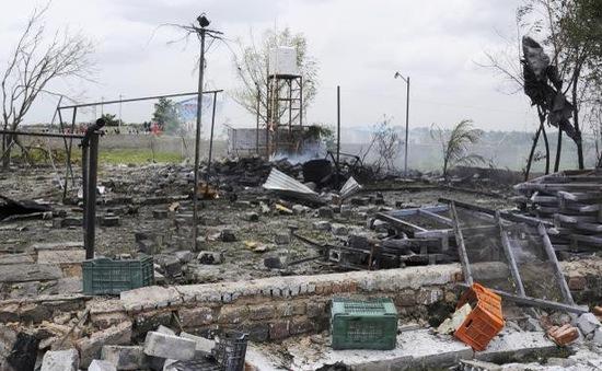 Ấn Độ: kho chứa pháo hoa phát nổ, 11 người thiệt mạng