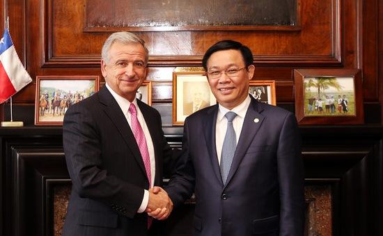 Chile là đối tác quan trọng hàng đầu của Việt Nam tại khu vực Mỹ Latin