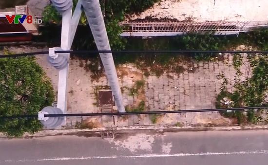Ứng dụng công nghệ flycam quản lý lưới điện ở Quảng Ngãi