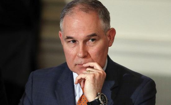 Bộ trưởng Bộ Môi trường Mỹ từ chức vì lạm dụng công quỹ