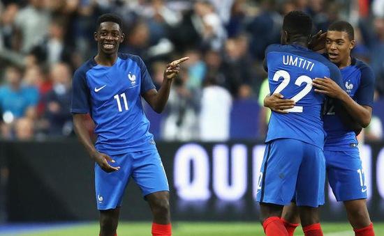 FIFA World Cup™ 2018: HLV Deschamps bất ngờ chỉ trích ngôi sao tuyển Pháp trước tứ kết