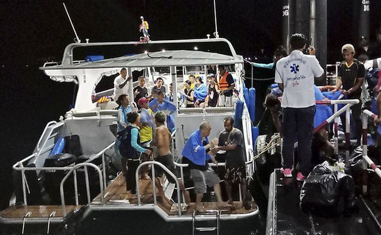 Thái Lan bồi thường các nạn nhân vụ chìm tàu