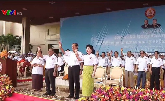 Đảng Nhân dân Campuchia bắt đầu chiến dịch tranh cử