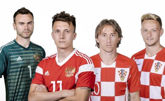 Tứ kết FIFA World Cup™ 2018, Nga - Croatia: Cuộc đấu của những tay súng (1h00 ngày mai, 8/7)