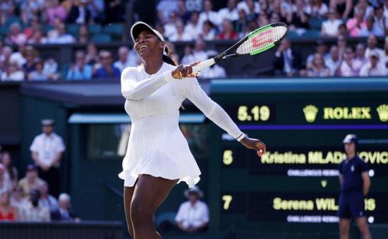 Đơn nữ Wimbledon 2018: Nhà Williams chia nửa vui buồn