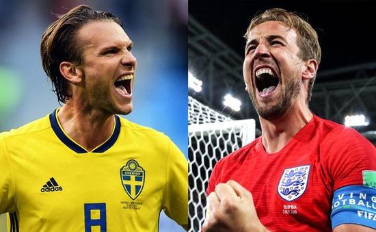 Tứ kết FIFA World Cup™ 2018, Anh - Thụy Điển: Lịch sử sang trang với đội bóng nào? (21h00 hôm nay, 7/7)