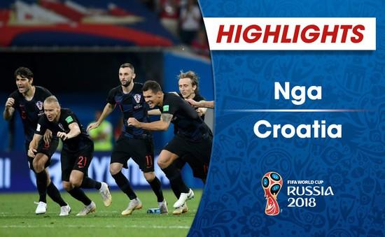 HIGHLIGHTS: ĐT Nga 2-2(pen 3-4) ĐT Croatia (Tứ kết FIFA World Cup™ 2018)