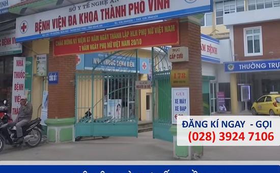Tầm soát suy tĩnh mạch miễn phí cho giáo viên ở Nghệ An