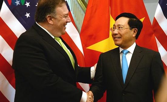 Hội đàm Bộ trưởng Ngoại giao Việt Nam - Hoa Kỳ