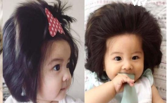 """Cô bé tóc dày Nhật Bản gây """"sốt"""" mạng xã hội"""