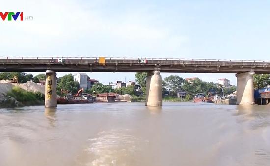 Đảm bảo an toàn giao thông khu vực cầu Đa Phúc