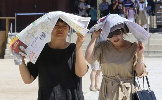 Nắng nóng kỷ lục trong hơn 100 năm qua ở Hàn Quốc
