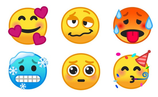 Android 9.0 Pie cập nhật hàng loạt emoji mới