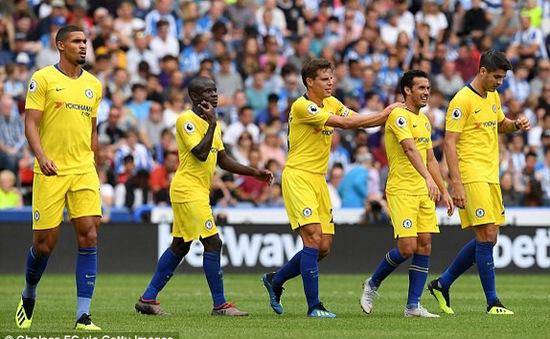 VIDEO Huddersfield Town 0–3 Chelsea: HLV Sarri ra mắt thành công ở Ngoại hạng Anh