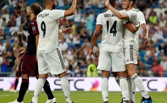 Hạ AC Milan, Real giữ cúp ở Bernabeu lần thứ 13 liên tiếp