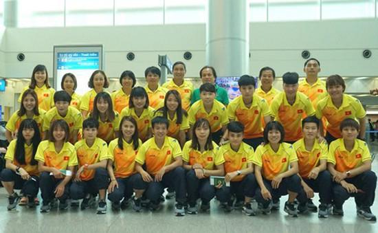 ĐT bóng đá nữ Việt Nam đã có mặt tại Indonesia