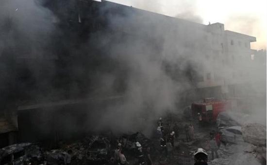 Nổ kho vũ khí ở Syria, hơn 30 người thiệt mạng