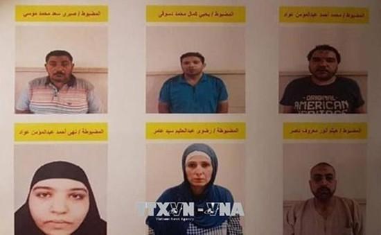 Ai Cập tiêu diệt 6 tên khủng bố