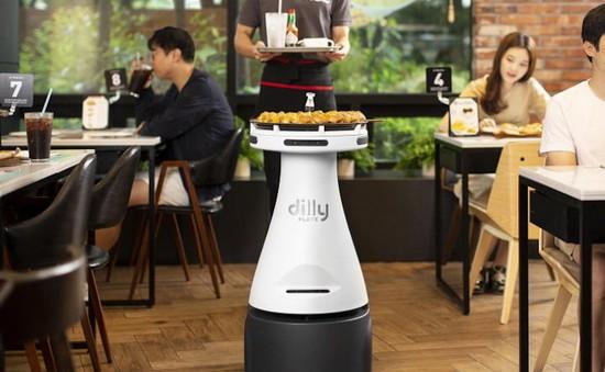 Robot phục vụ tại nhà hàng Pizza Hut