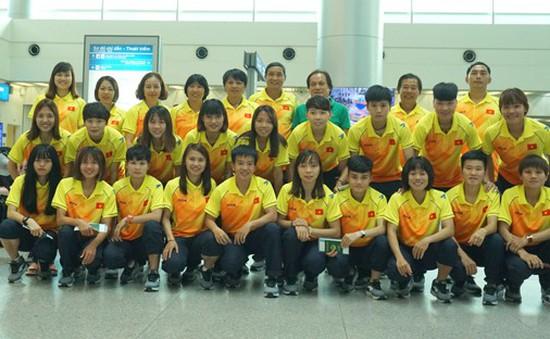 Đội tuyển nữ Việt Nam lên đường sang Palembang (Indonesia) tham dự ASIAD 2018