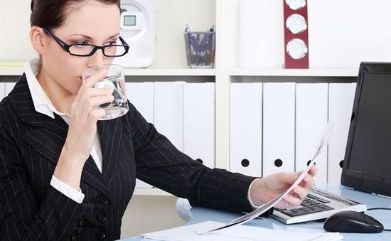 Thiếu nước có thể làm giảm khả năng tập trung