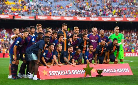 Barcelona đoạt cúp trong ngày Real Madrid thảm bại