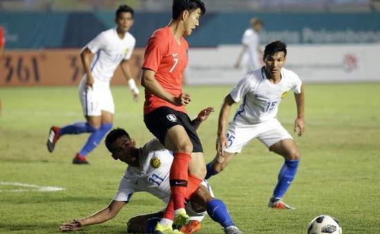 Cực sốc tại ASIAD: Có Son Heung-min, Olympic Hàn Quốc vẫn thất bại ê chề trước Olympic Malaysia