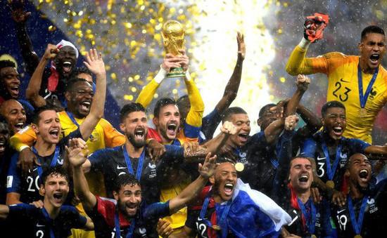BXH FIFA tháng 8/2018: Vô địch World Cup, ĐT Pháp nắm giữ vị trí số 1