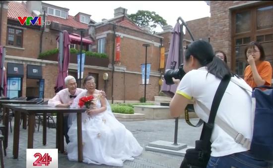 Lễ tình nhân của các cụ già Trung Quốc